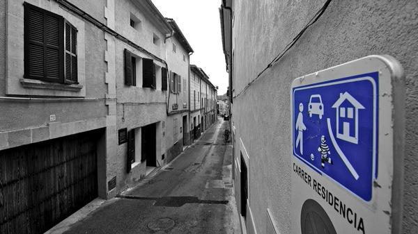 """Spielstraße"", Pollenca, Mallorca"
