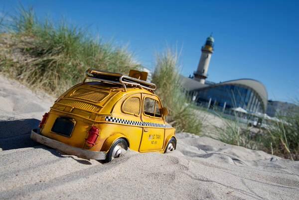Taxi nach Warnemünde, Deutschland
