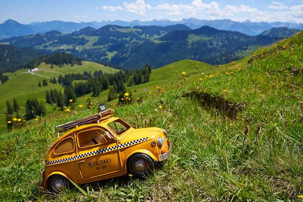 Taxi ins Allgäu, Deutschland
