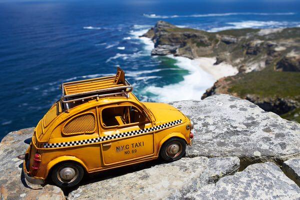Taxi zum Kap der Guten Hoffnung, Südafrika