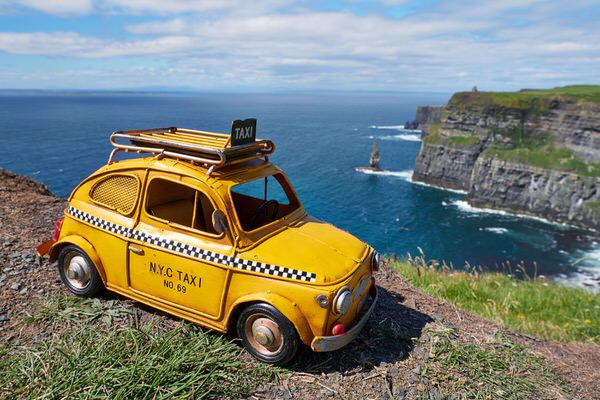 Taxi zu den Cliffs of Moher, Irland