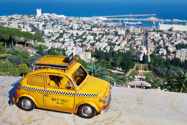 Taxi nach Haifa, Israel