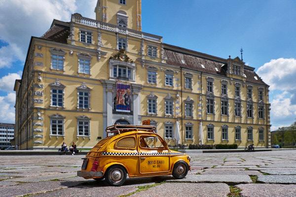 Taxi zum Oldenburger Schloss, Oldenburg, Deutschland