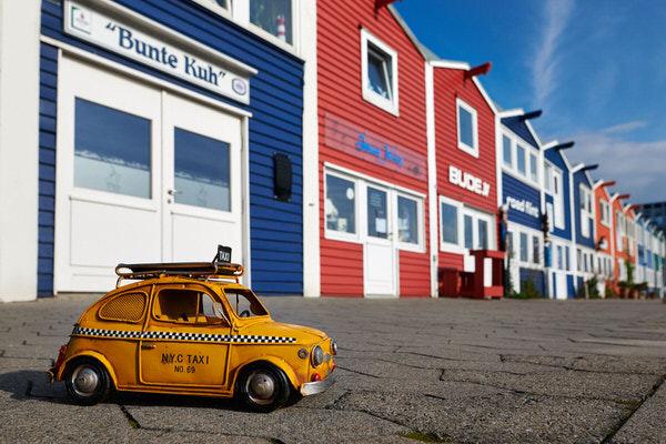Taxi zu den Hummerbuden, Helgoland, Deutschland